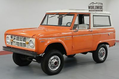 1971 Ford Bronco Restored! Uncut! 302 V8!  4X4. Must See!
