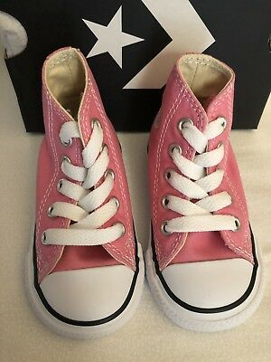 abea1ff96b97 CONVERSE AS CT HI Tops Toddler Infant Girls Shoes Pink US Size 3