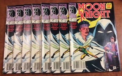 Moon Knight Marvel Comics #35 Jan 1984 Double Sized Issue X-Men/Fantastic Four