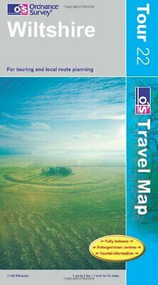 Wiltshire (OS Travel Series - Tour Map) ... by Ordnance Survey Sheet map, folded