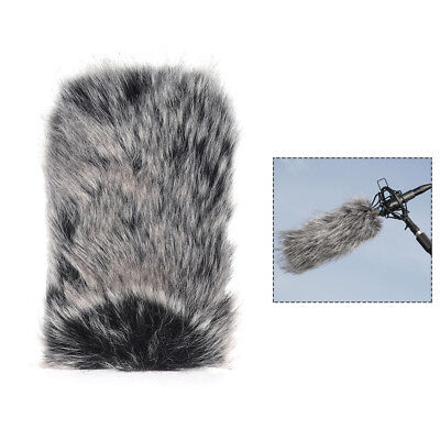 L Size Microphone Mic Furry Windscreen Windshield Cover Muff for TAKSTAR DM U6L3