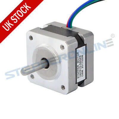 Nema 14 Stepper Motor 1.8deg 14Ncm 0.4A 12V 35x26mm 4-wire 3D Printer Extruder
