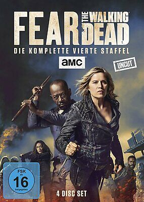 Fear the Walking Dead - Season/Staffel 4 # 4-DVD-BOX-NEU