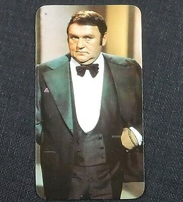 Les Dawson (British Comedian) : 1979 TV All Stars Card by Golden Wonder