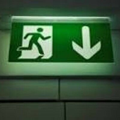 Emergency Lighting Test in a Property
