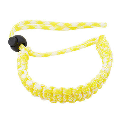 Yellow Hand-made Bracelet Parachute Rope Camera Wristband For Canon Nikon Z