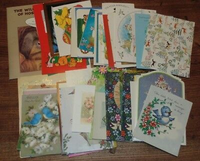 Lot of Vintage Various Animal Greeting Cards