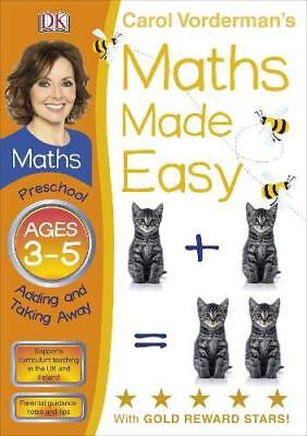 Maths Made Easy by Carol Vorderman, Ages 3-5, activity book. NEW