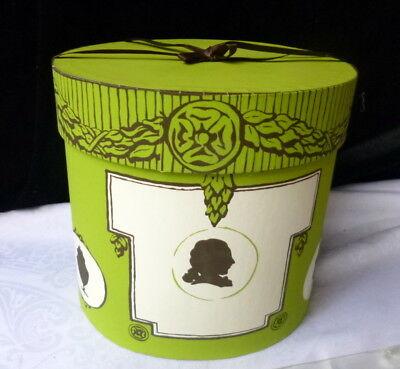 LOVELY Hand Made Altalier New York Decorative Hat Box Silhouettes