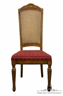 STANLEY FURNITURE Italian Provincial Cane Back Dining Side Chair 8311-60