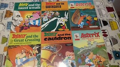 Asterix The Gaul,books 13,14,15,16,17,18 Hodder Dagaug ,1984 Print,see Others