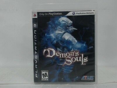 Demon's Souls Playstation 3 Ps3 Complete In Box W/ Manual Cib Acceptable