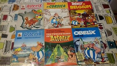 Asterix The Gaul,books 20,21,22,23,24,25 Hodder Dagaug ,1984 Print,see Others