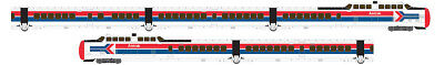 Rapido 520504, N Scale, TurboTrain, Late Amtrak, 5-Car Set, DCC & Sound Equipped