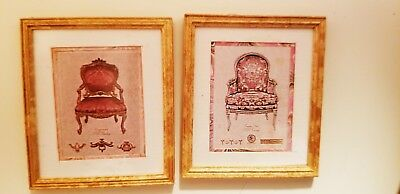 Dollhouse  Mcbay~Set 2 Chair Pictures~~~ #4