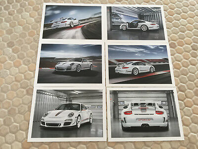 Porsche Official 911 997 Gt3 Rs 4.0 Post Card Set Of 6 New 2011