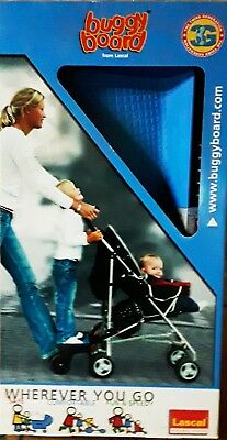BuggyBoard Maxi from Lascal, BLUE, Easy Fit System, Brand New!