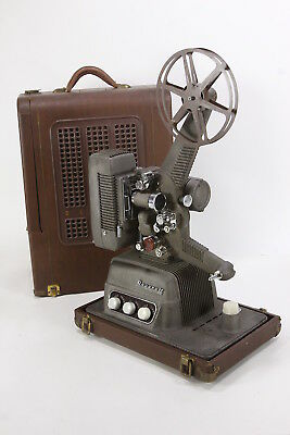 Revere Camera Co S-16 MM Film Sound Projector Vintage Reel-To-Reel Movie Works
