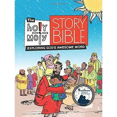 The Holy Moly Story Bible: Exploring God's Awesome Word - Hardcover NEW Rebeccs