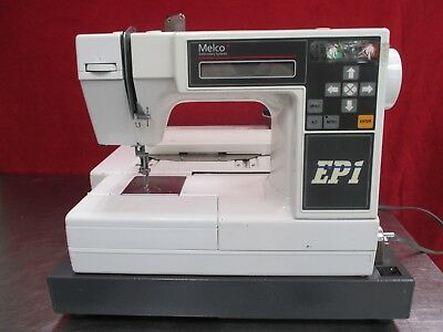 Melco As Is Ep1 Commercial Industrial Embroidery Machine