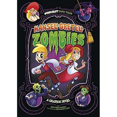 Hansel & Gretel & Zombies: A Graphic Novel (Far Out Fai - Library Binding NEW Be