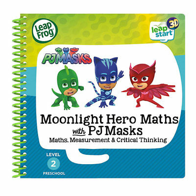 LEAPFROG PJ Masks Moonlight Maths Activity Book (3D Enhanced) Leap Start 460103