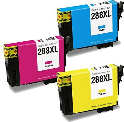 Remanufactured 288XL COLOR Ink Cartridge fit Epson XP440 XP330 XP430 XP434 XP340