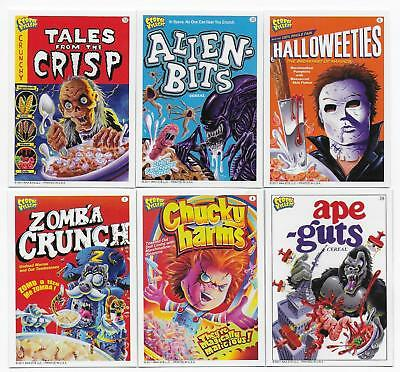 2011 Wax Eye CEREAL KILLERS Series 1 Trading Card Set  (55 Cards)