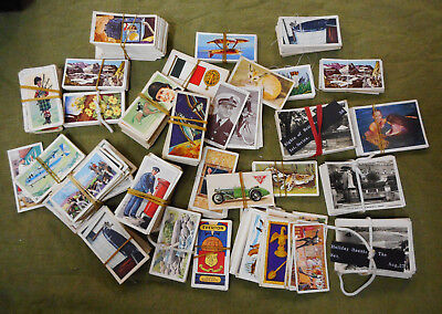 #Ff.  Job Lot Of Cigarette & Tea Cards Cards, Some Doubles