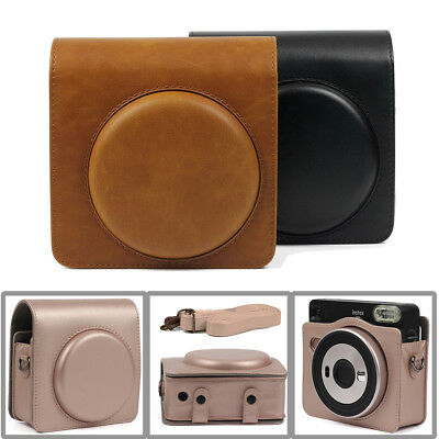 Fujifilm Instax Square SQ6 Instant Film Camera Carrying Case Cover PU Bag Shell