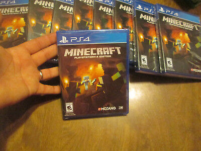 Minecraft -- PlayStation 4 Edition PS4 Sony BRAND NEW FACTORY SEALED MOJANG