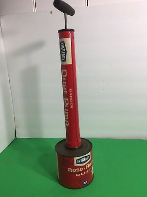 Vintage Eveready Garden Dust Pump Never Used
