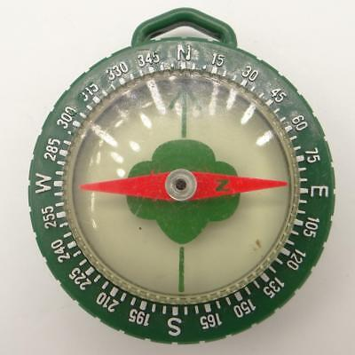 Taylor Instrument Companies Green Plastic Girl Scout Compass