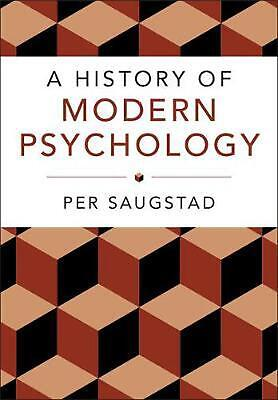 History of Modern Psychology by Per Saugstad (English) Paperback Book Free Shipp
