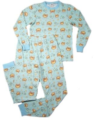 Adult Dear Bear baby blue color PJ's autistic