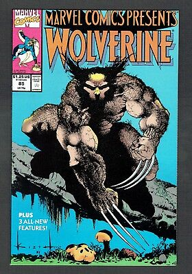 Marvel Comics Presents #85 First Cyber Marvel 1991 NM- Sam Keith Wolverine Cover