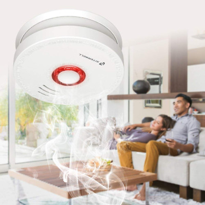 2 Pack SITERWELL Smoke Detector and Battery Operated Smoke and Fire Alarm SO HOT