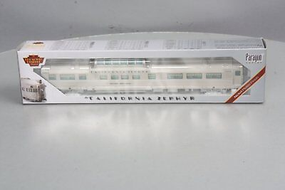"""Broadway Limited 514 HO Paragon Series D&RGW """"Silver Bronco"""" Vista Dome #1105"""