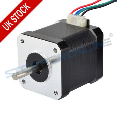 Nema 17 Stepper Motor 1.8deg 45Ncm 1.68A 48mm 4 Wires 1m Cable CNC 3D Printer