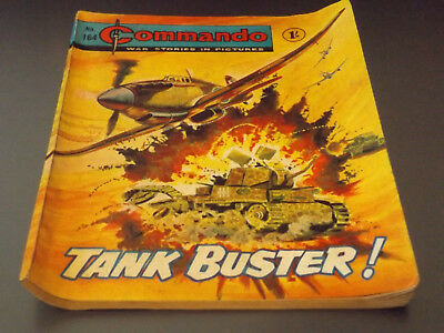 Commando War Comic Number 164 !!,1965 Issue,good For Age,53 Years Old,very Rare.