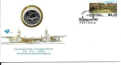 South Africa 1994 Mandela Coin FDC