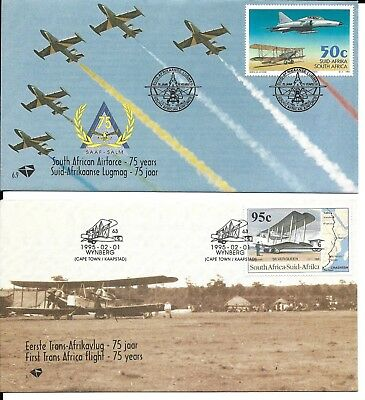South Africa 1995 Aviation FDCs
