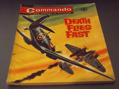 Commando War Comic Number 184 !!,1965 Issue,good For Age,53 Years Old,very Rare.