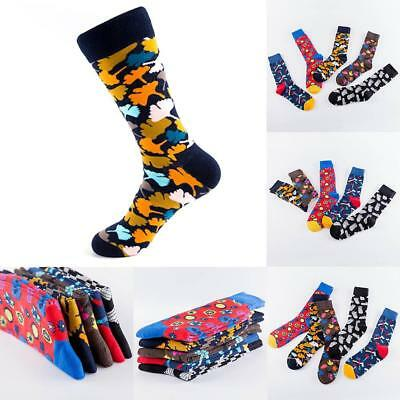 Art Funny Happy Socks Men Street Paint Hip Hop Socks Cool Skateboard hot