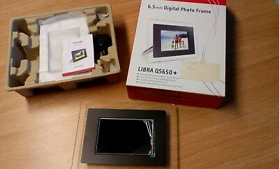 Reddmango  6.5 INCH Digital Photo Frame - Black or Silver Frame - NEW IN BOX
