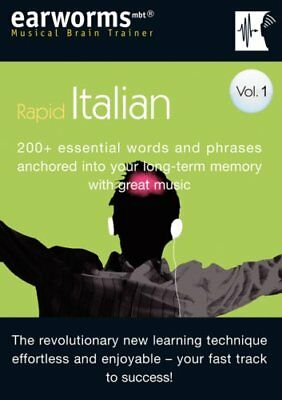 Earworms Rapid Italian Vol. 1: 200+ Esse... by Lodge, Marlon Mixed media product