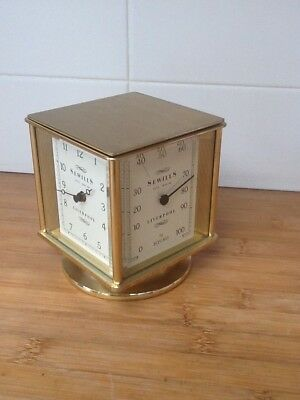 Solid Brass 4 Sided Weather Station by Sewills Liverpool