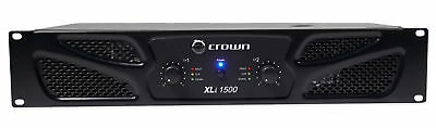 Crown Pro XLi1500 900w 2 Channel DJ/PA Power Amplifier Professional Amp XLI 1500