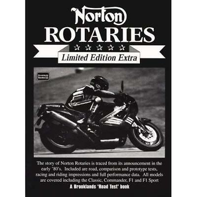 Norton Rotaries (Brooklands Road Test Limited Edition E - Paperback NEW Clarke,