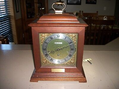Vtg. Seth Thomas Legacy 3 Westminster Chime Mantle Shelf Clock Instructions Key